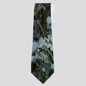 The witch speaks with their firefly Neck Tie