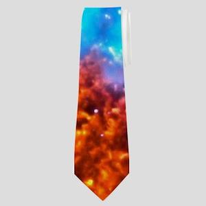 Colorful Cosmos Neck Tie