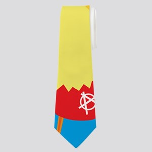 punk easter chick Neck Tie