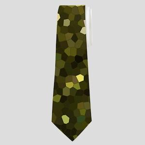 Gold Mosaic Sparkley 1 Neck Tie
