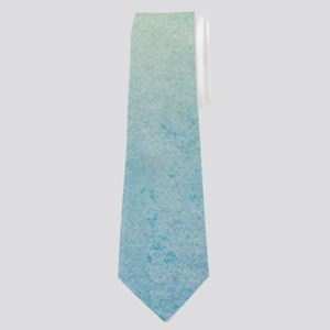 Tropical design with surfboard Neck Tie
