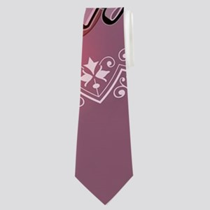 Funny easter bunny with easter eggs Neck Tie