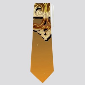 Vintage, musicbox with light effect Neck Tie