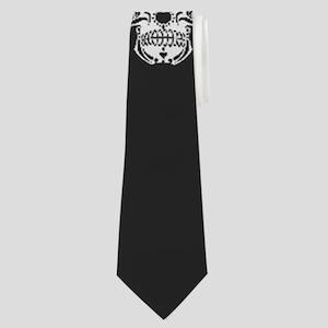 Skull Pattern Neck Tie