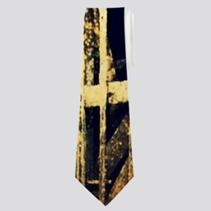 rustic country old barn Neck Tie