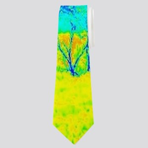 modern winter snowmobile Neck Tie