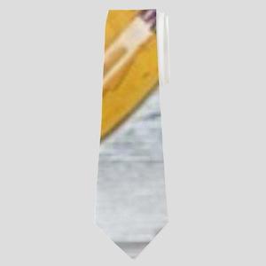 hipster surfer hawaii beach Neck Tie