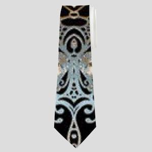 floral mandala hipster bohemian Neck Tie