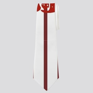 nautical red white stripes lobster Neck Tie