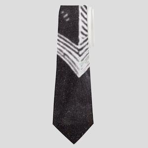 modern nautical anchor Neck Tie