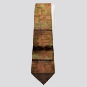 barn wood texas star Neck Tie