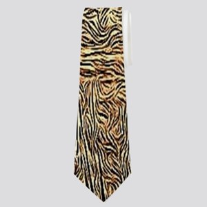 distressed western country barn Neck Tie