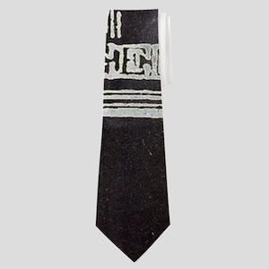 vintage cross royal crown Neck Tie