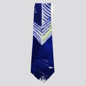 nautical navy blue anchor Neck Tie