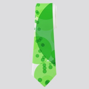 Bubbles Green Neck Tie