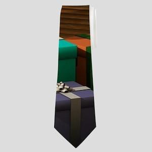 Christmas room Neck Tie