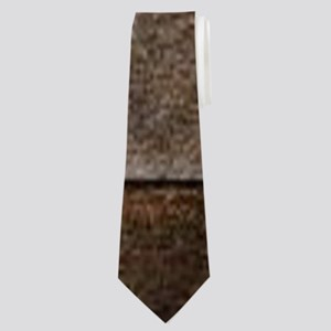 barn wood lace western country Neck Tie