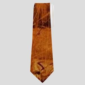 inspirational sunrays golden cross Neck Tie