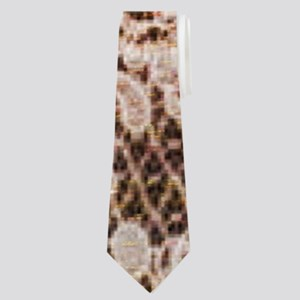 rustic wood lace Neck Tie