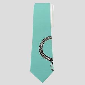 Marine Life Neck Tie