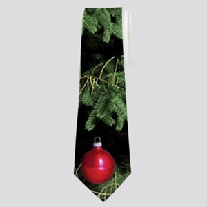 Beautiful Christmas Tree Neck Tie
