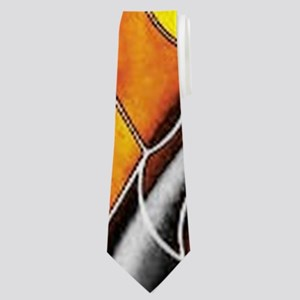 abstract net Neck Tie