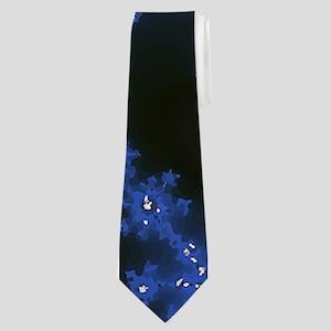 Fractal Fireworks Neck Tie