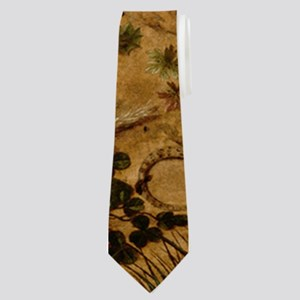 Hare In The Forest Neck Tie