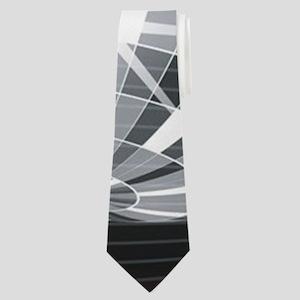 silver disco ball Neck Tie