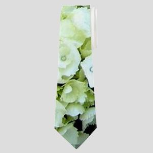 Colorful Hydrangea Bush Neck Tie