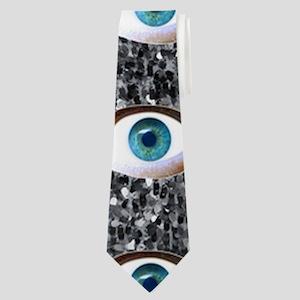 glitter eyes Neck Tie
