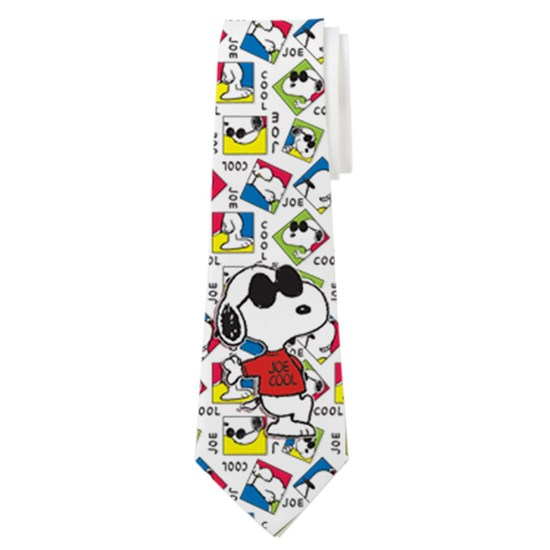 Snoopy Joe Cool Alt Tie