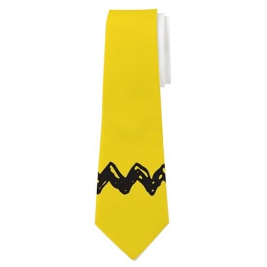 Charlie Brown Zig Zag Tie