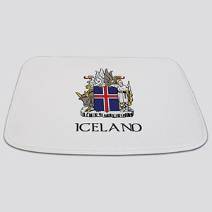 Coat of Arms of Iceland Bathmat