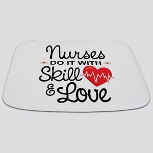 Funny Nursing Quotes Bath Mats - CafePress