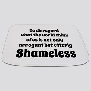 Shameless Quote Bathmat