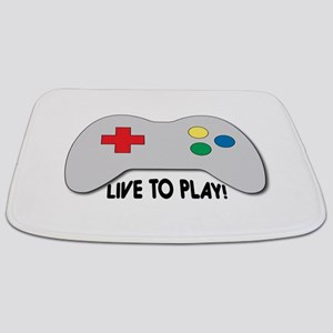 Live To Play! Bathmat