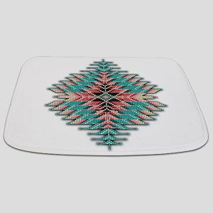 Southwest Native Style Sunburst Bathmat