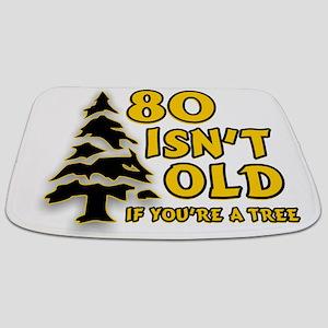 80 Isnt old Birthday Bathmat