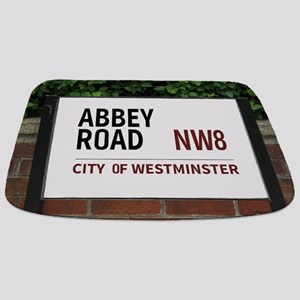 Abbey Road street sign Bathmat