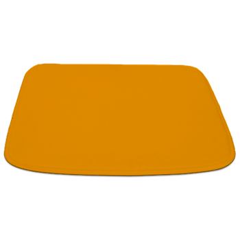 Solid Orange Peel Bathmat