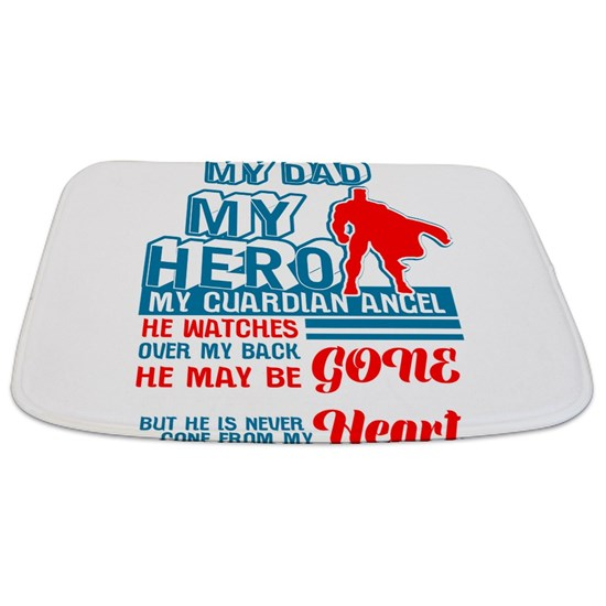 Dad Hero Guardian Angel Heart Daddy Parent Gift