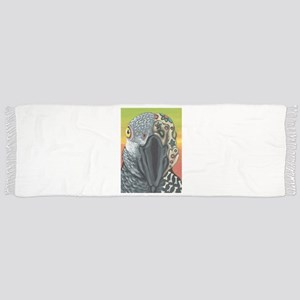 Day of the Dead Parrot Sugar Skull Scarf