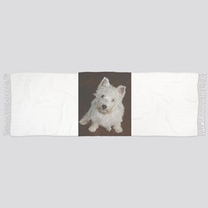 puppy west highland white terrier sitting Tassel S