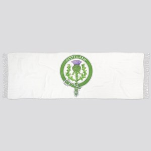 Scotland Thistle Badge Scarf