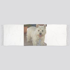 west highland white terrier full Tassel Scarf