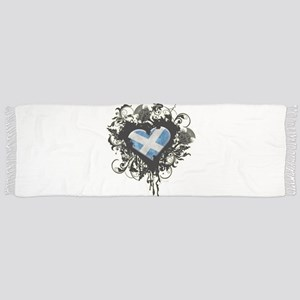 Scottish Heart Scarf