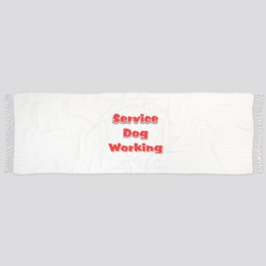 SERVICE DOG SHOP Tassel Scarf