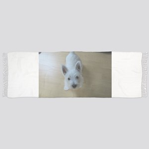 west highland white terrier Tassel Scarf