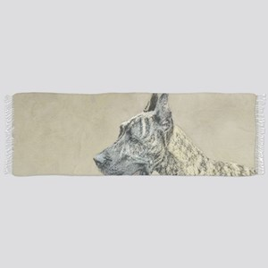 Great Dane (Brindle) Tassel Scarf